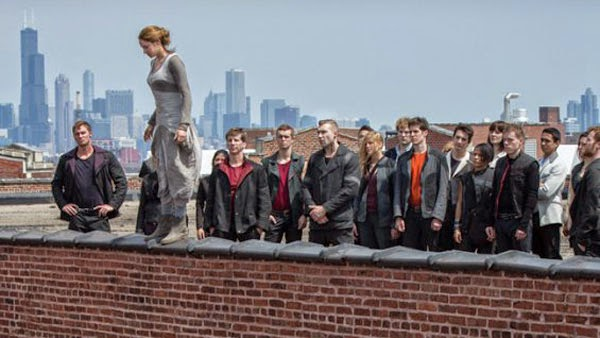 Divergent, a 2014 film based on the novel by Veronica Roth