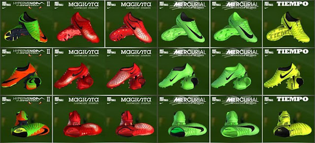 Nike 2017 Radiation Flare Boots Collection - PES 2013 - PATCH PES ... d72ff0b18c56b