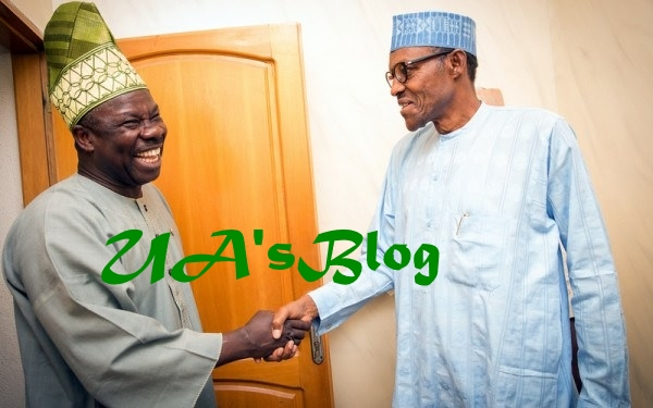 JUST IN: Amosun Meets Buhari, Says I Have No Hand In Oshiomhole's Woes