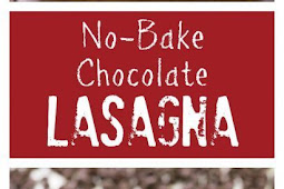 No Bake Chocolate Lasagna