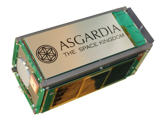 First Versions: Asgardia-1