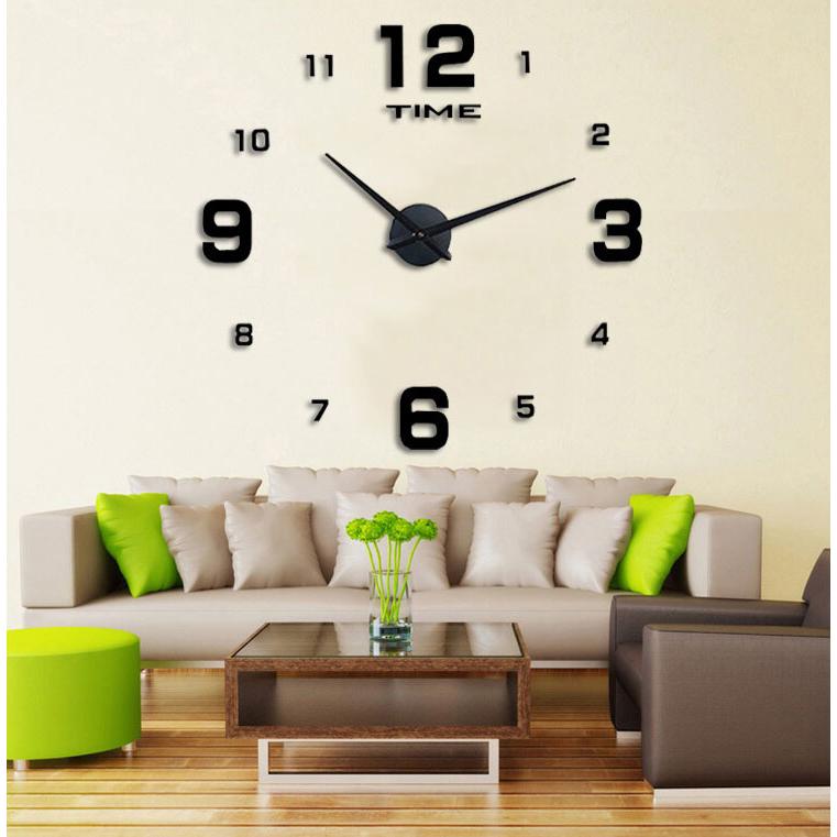 Jam Dinding 3D Unik Besar dan Minimalis 595b18cd16