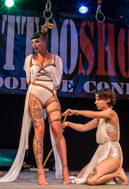 Tattoo Convention Zaragoza 2017 - Shibari