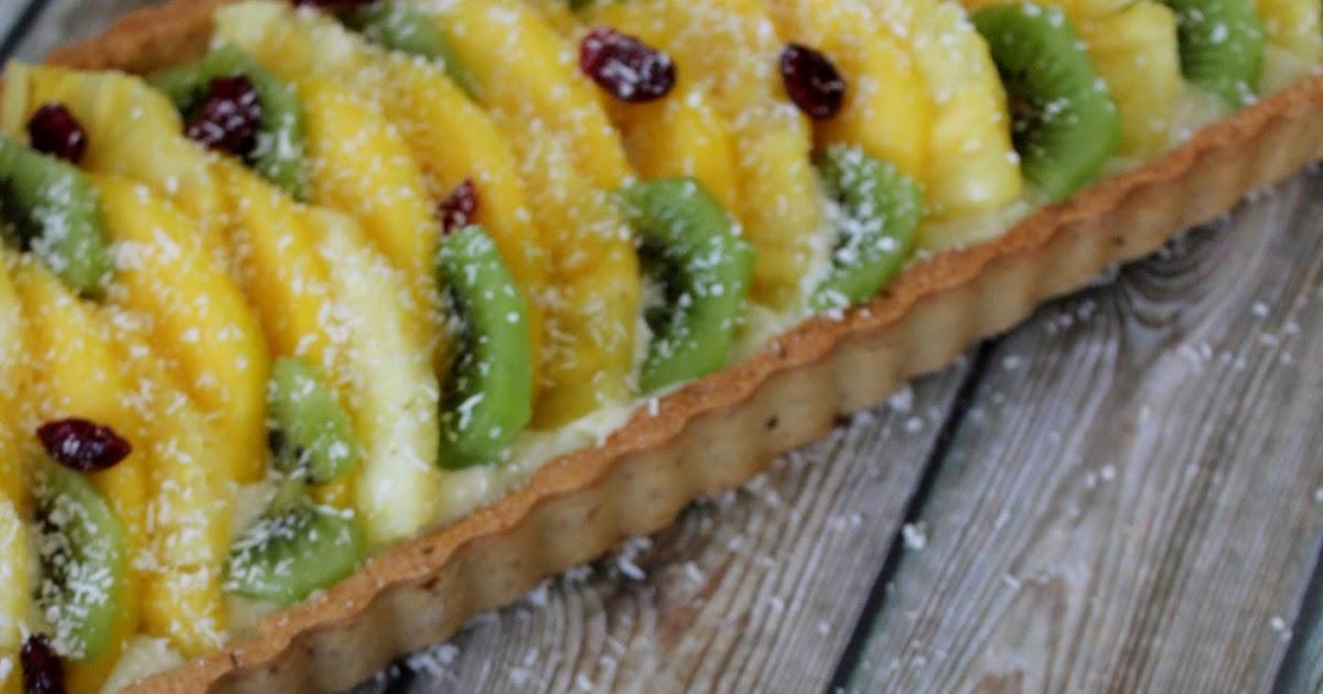 Une pipelette en cuisine tarte aux fruits exotiques for En cuisine avec coco