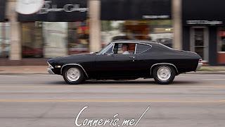 Draggin Douglas Black Chevrolet Chevelle