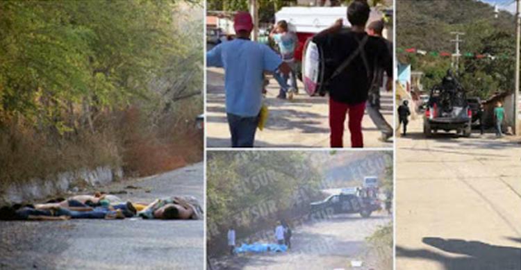 """""""TUVO MIEDO el 911"""",COMANDO de 4O SICARIOS ATERRORIZO PUEBLO de GUERRERO y APANICO AUTORIDADES"""