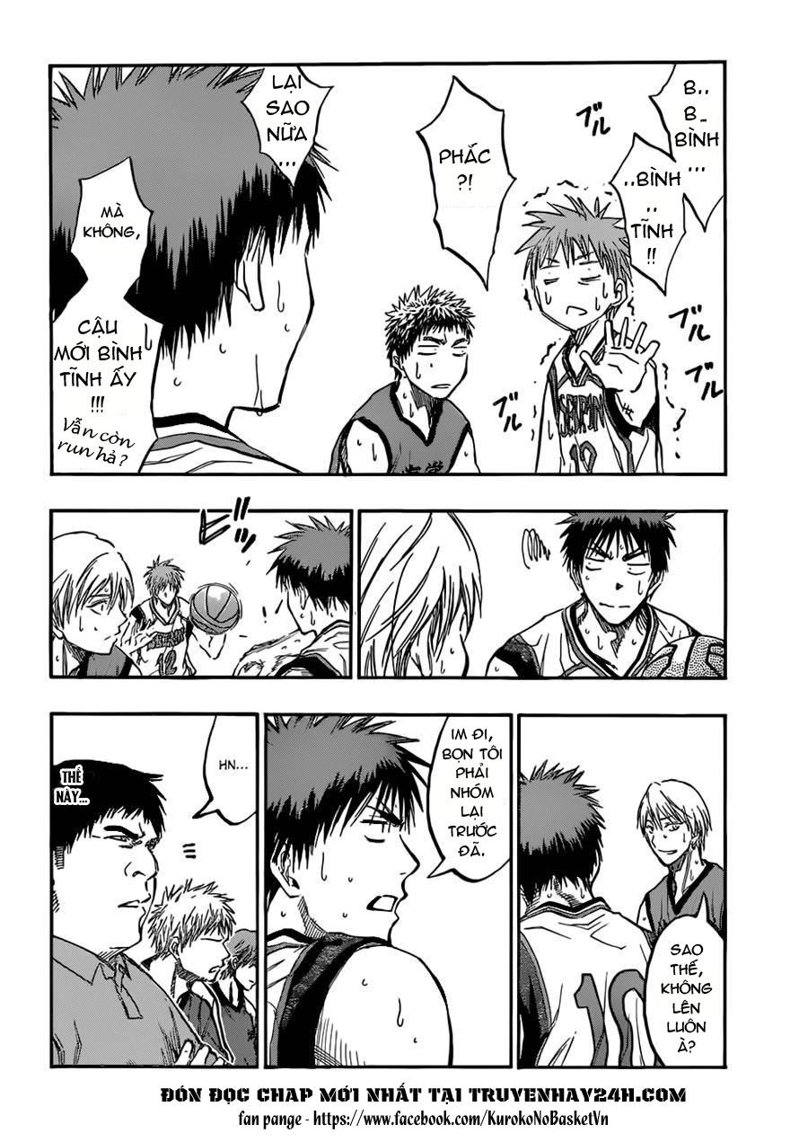 Kuroko No Basket chap 187 trang 4