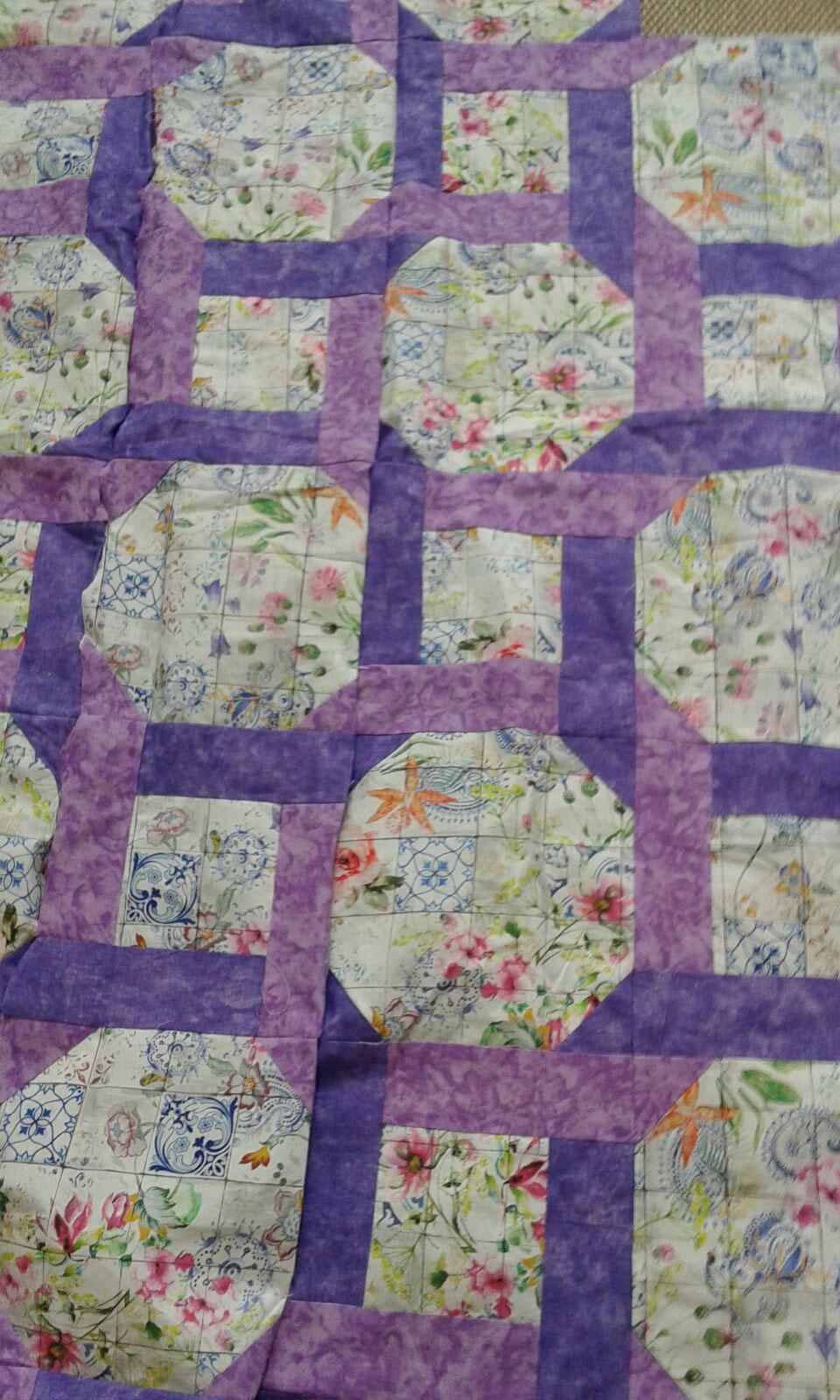 Kiloztejidos colcha patchwork - Colcha patchwork ...