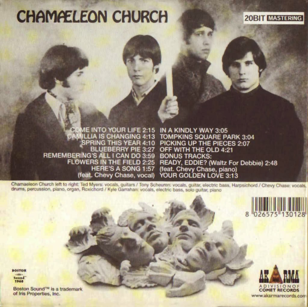 Chevy Chase in Chamaeleon Church