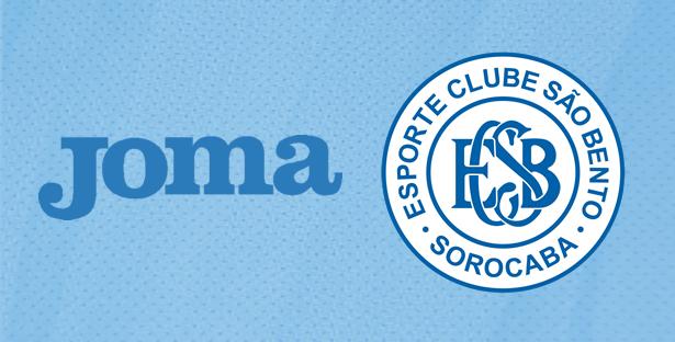 85b91119d290c Joma é a nova fornecedora esportiva do São Bento de Sorocaba - Show ...