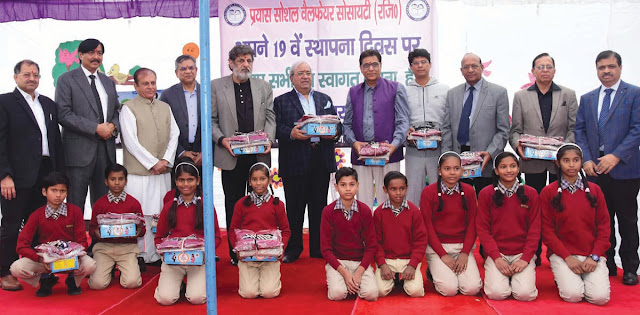 Attempt Social Welfare Society Faridabad Distributes Distribution to 7000 Children