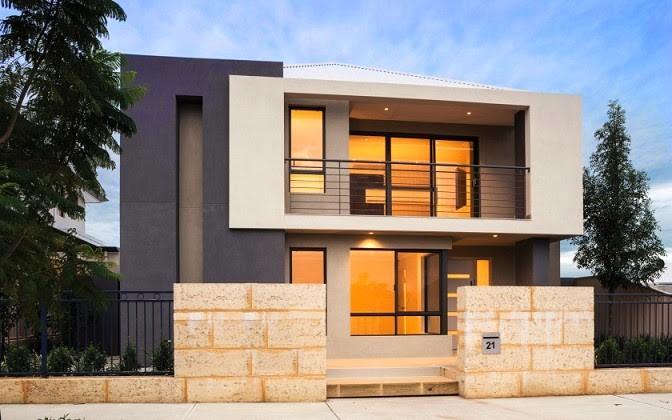 model rumah tingkat sederhana 2