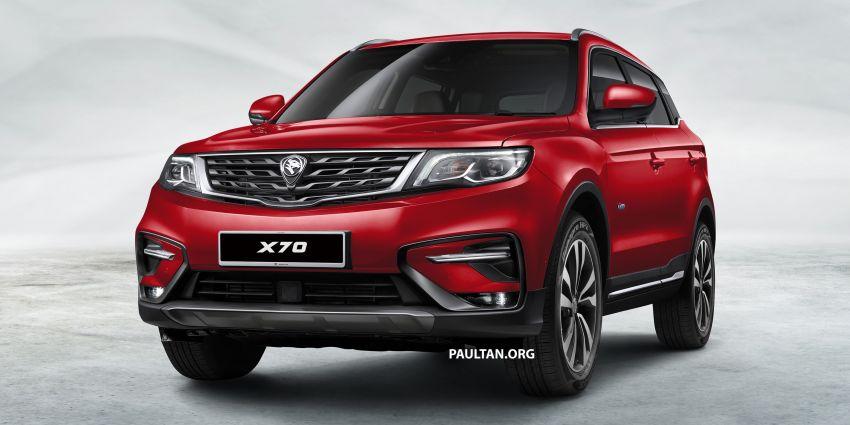 Spesifikasi Dan Harga Kereta Proton SUV X70