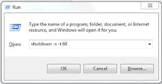 shutdown timer for windows