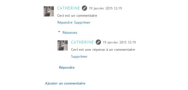 Modifier l'apparence des textes des commentaires sous Blogger