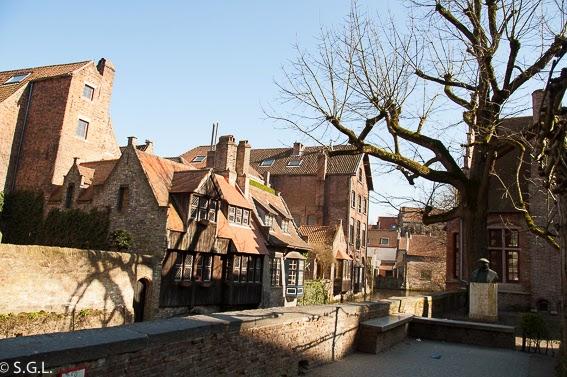 Paseando un dia en Brujas en Belgica