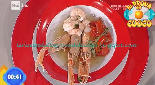 Zuppa di scampi ricetta Ricchebono da Prova del Cuoco