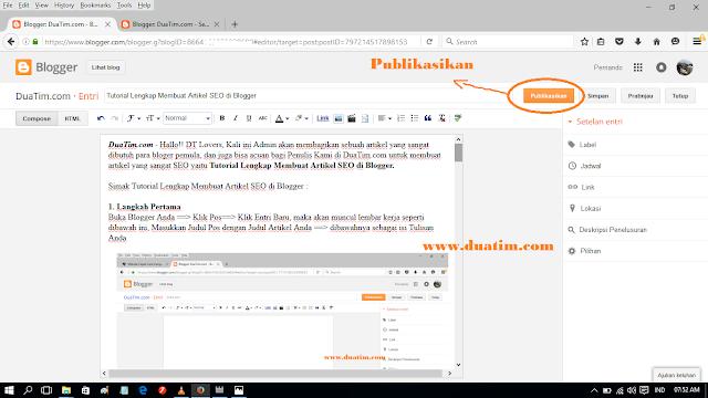 Tutorial Lengkap Membuat Artikel SEO di Blogger 11