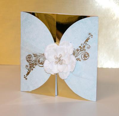 Oh My Crafts Blog Golden Anniversary Card