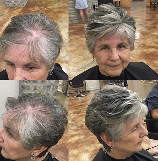 pixie haircuts for older women 2019