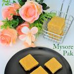 Mysore Pak Recipe | Ghee Mysore Pak | Sri Krishna Sweets Style | Soft Mysore Pak | Diwali Special Recipes