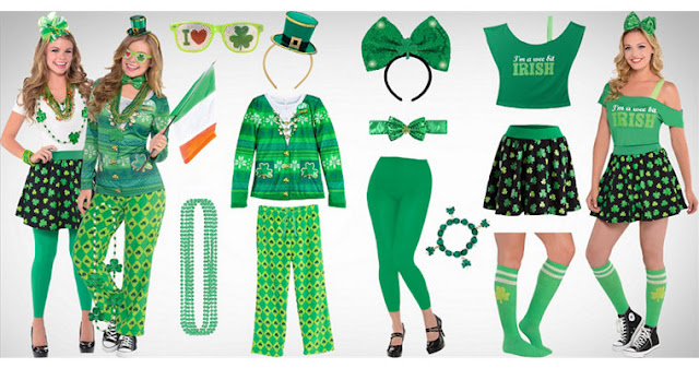 Happy St. Patrick's Day Outfits & Costume Ideas 2017 For Men, Women Kids & Toddlers