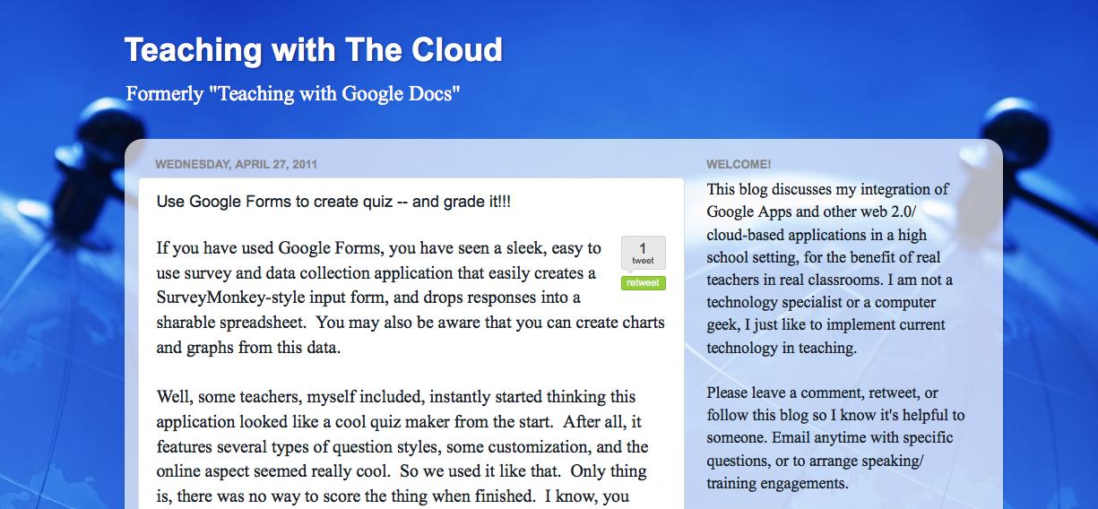 Teaching like it's 2999: I'm in Blog-Love / Grading Tests
