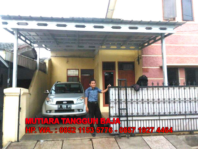 Agen Penjual Kanopi Baja Ringan Tangerang