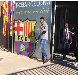 Yerri Mina ya tiene agenda con el Barcelona