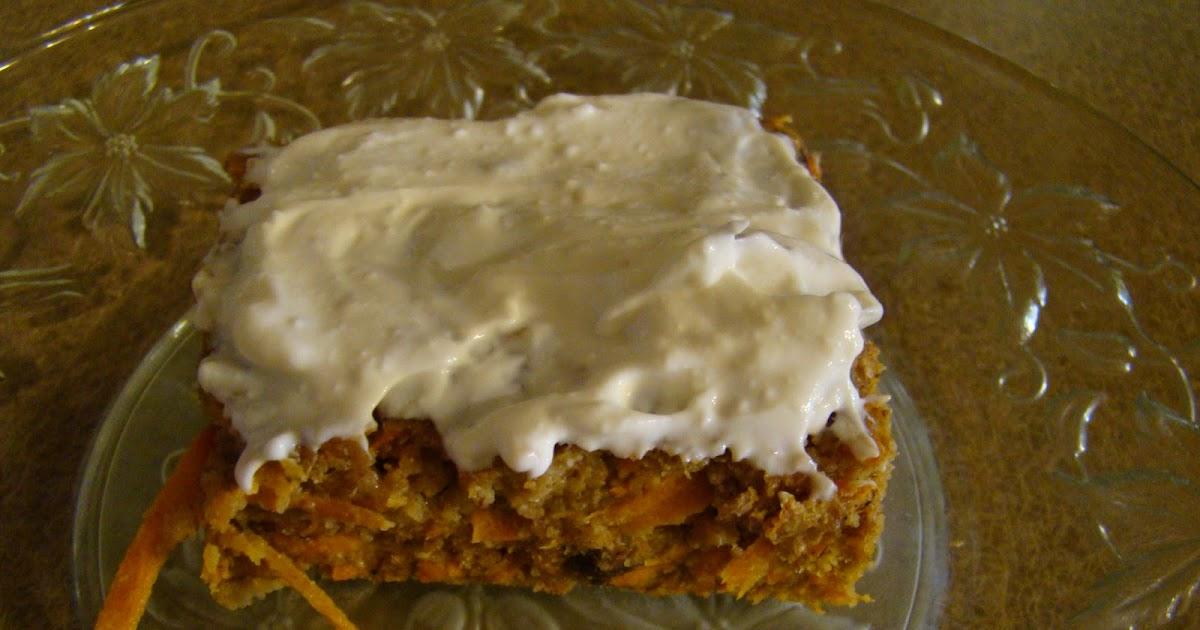 Alkaline Carrot Cake