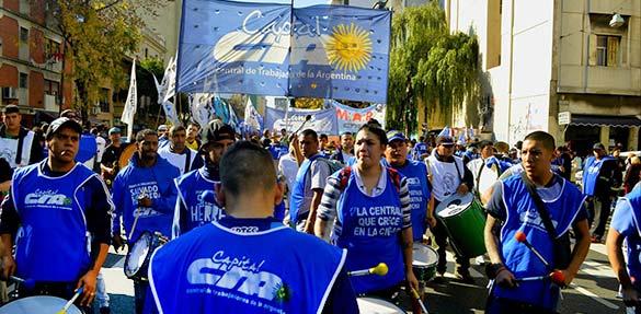 Organizaciones sociales de la CTA Autónoma marcharon al Ministerio de Desarrollo Social