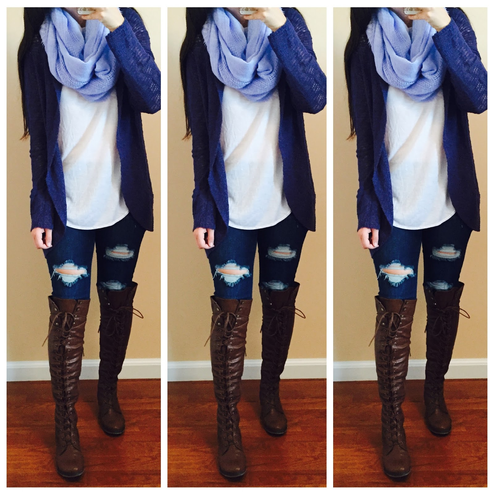 Winter Dresses With Boots