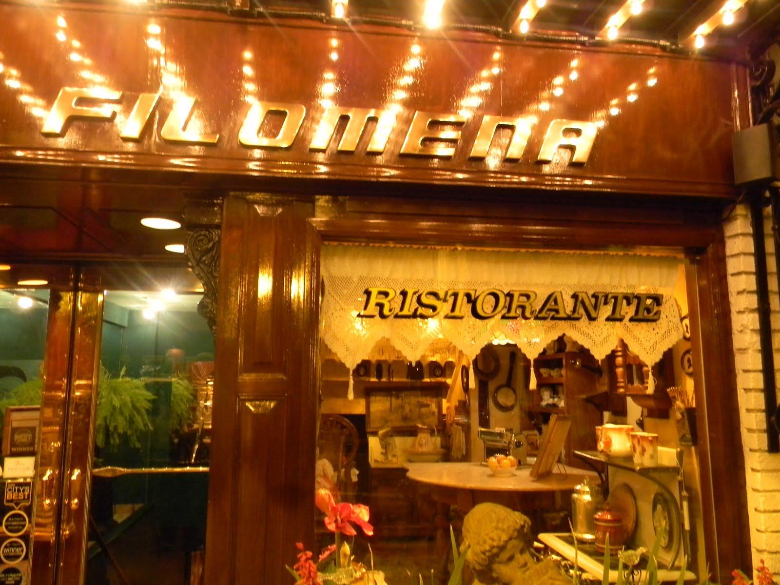 Taste Travel Filomena S Italian Restaurant Dc