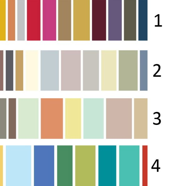 C mo decorar la casa pintura para pared colores - Paleta colores bruguer ...
