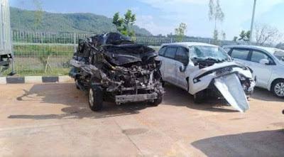 Kecelakaan di tol Batang-Semarang