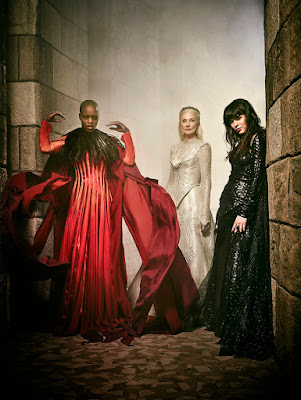 Ana Ularu, Joely Richardson and Florence Kasumba in Emerald City Series (96)