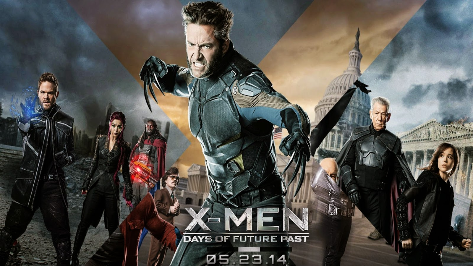 X Men Days Of Future Past Wallpaper: The Future Machine: TEN COOLEST MUTANTS FROM THE X-MEN