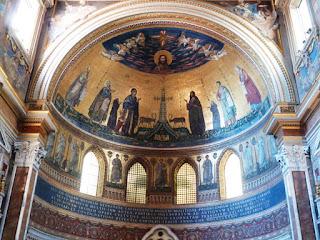 mosaico guia de roma latrao - Paixão Roma encontra Paixão Assis