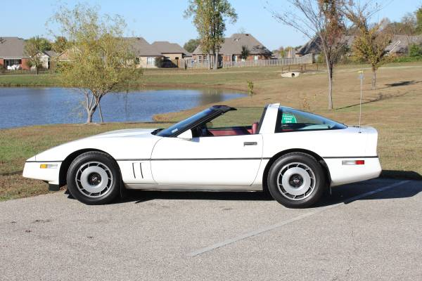 CHEVROLET Corvette C4 Convertible specs - 1984, 1985, 1986, 1987 ...