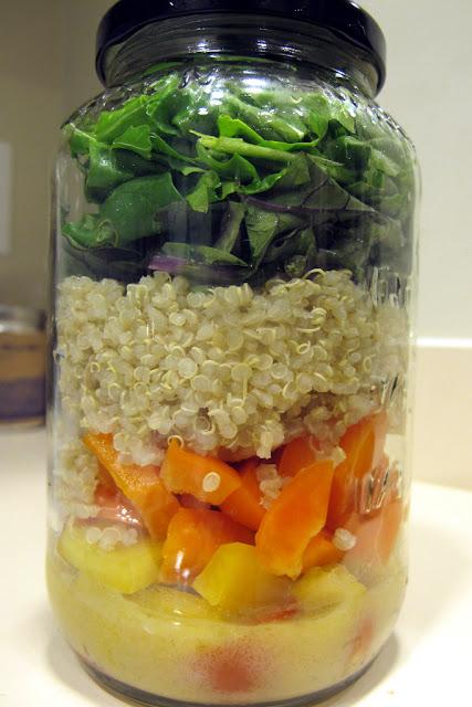 Salada no Pote - Dicas de como Montar