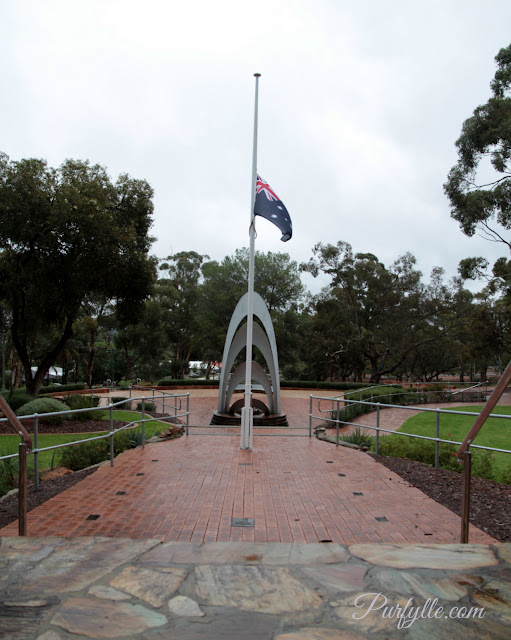 Australian flag flies at half mast in honour of our ANZAC's