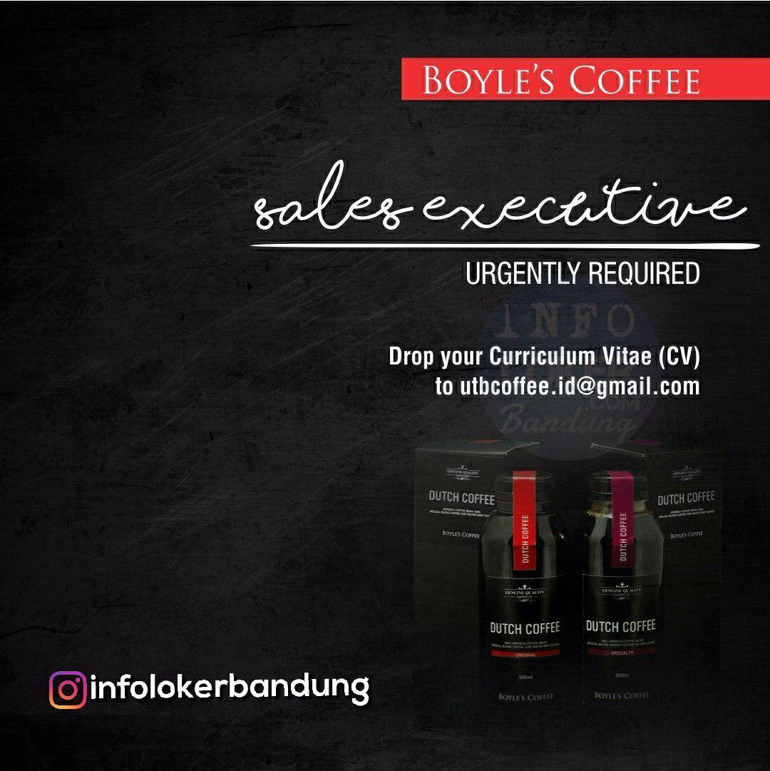 Lowongan Kerja CV. UTB Coffee Indonesia Bandung Juli 2018