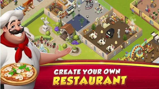 World Chef MOD APK Hack Unlimited Storage  World Chef 1.38.3 Mod Apk (Unlimited Gems+Money) Android