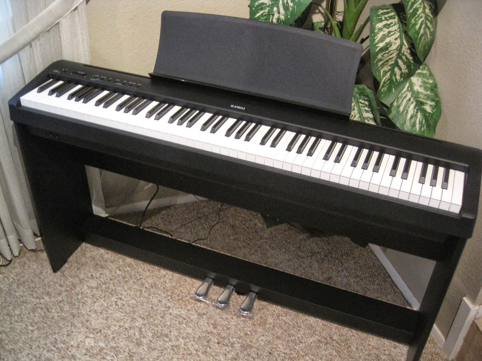 Az piano reviews review digital pianos under 1000 go here for Yamaha p115 stand