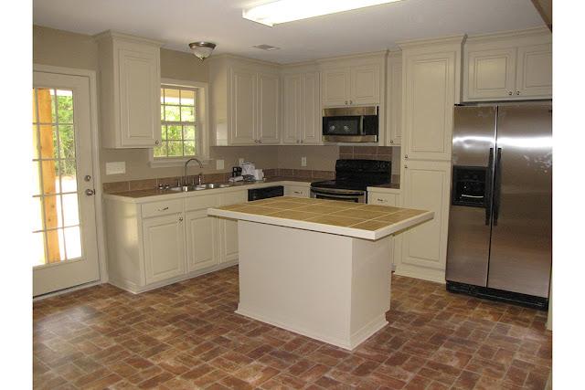 ห้องครัวแบบบ้านชั้นเดียว