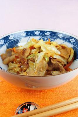 ご飯にあう回鍋肉(ホイコーロー)の献立レシピ