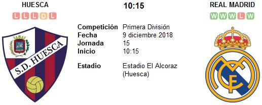 Huesca vs Real Madrid en VIVO
