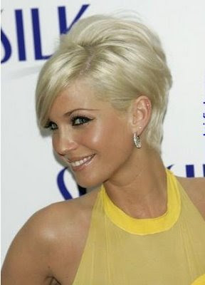 Admirable Short Blonde Hairstyles 2013 Rainbow Carpet Girl Short Hairstyles For Black Women Fulllsitofus