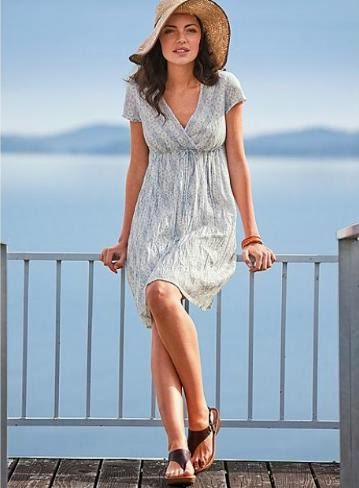 4.The Best Option is a Comfortable Summer Dress
