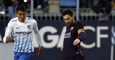 برشلونة يتعثر امام ملقا مخيبا لامال جماهيره